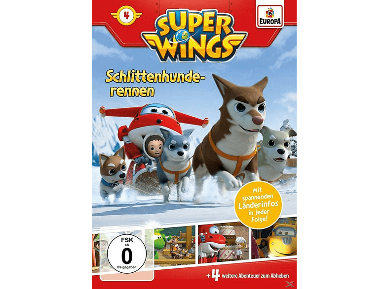 Super Wings 4 - Schlittenhunderennen [DVD]
