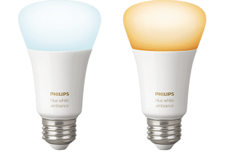 PHILIPS HUE White Ambiance 2-Pack Wit