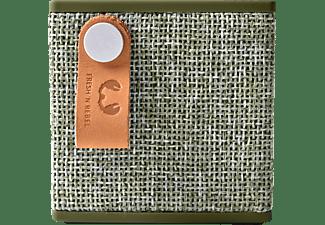FRESH N REBEL Rockbox Cube Fabriq Edition Bluetooth Lautsprecher, Grün