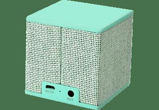 FRESH N REBEL Rockbox Cube Fabriq Edition Bluetooth Lautsprecher, Mintgrün