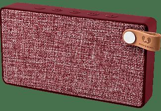 FRESH N REBEL Rockbox Slice Fabriq Edition Bluetooth Lautsprecher, Rot