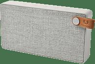 FRESH N REBEL Rockbox Slice Fabriq Edition Bluetooth Lautsprecher, Hellgrau