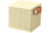 FRESH N REBEL Rockbox Cube Fabriq Edition Bluetooth Lautsprecher, Gelb
