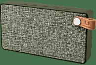 FRESH N REBEL Rockbox Slice Fabriq Edition Bluetooth Lautsprecher, Grün