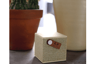 FRESH N REBEL Rockbox Cube Fabriq Edition Bluetooth Lautsprecher, Gelb