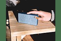 FRESH N REBEL Rockbox Slice Fabriq Edition Bluetooth Lautsprecher, Blau
