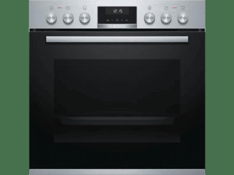 BOSCH HND615LS60 EOX5 (Backofen), Serie 4 (Kochfeld) Einbauherd-Set (Induktionskochfeld, A, 71 l)