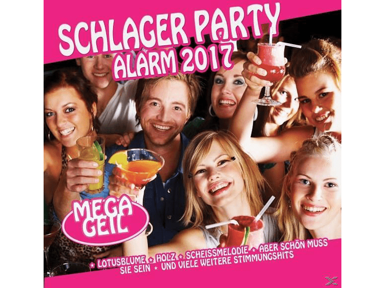 VARIOUS - Schlager Party Alarm 2017 [CD]