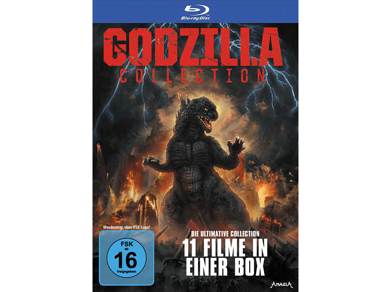 Godzilla 11 (Collector's Ed. Ltd. Softbox) [Blu-ray]