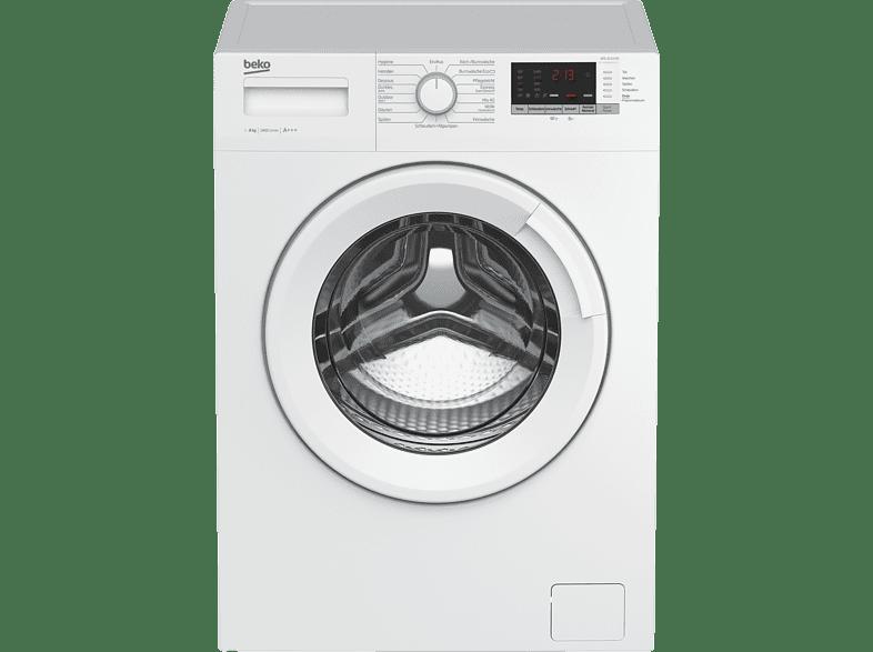 BEKO WML 81433 NP  Waschmaschine (8 kg, 1400 U/Min., A+++)