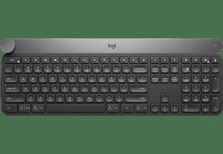 LOGITECH Tastatur Craft Advanced, kabellos, schwarz (920-008496)