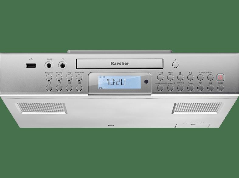 Unterbauradio Karcher Ra 2050 Unterbauradio Pll Fm Silber Pll Mediamarkt