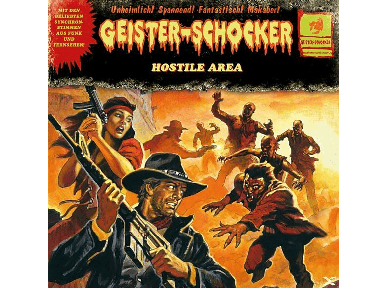 Geister-schocker - Hostile Area (Limited Vinyl LP) [Vinyl]