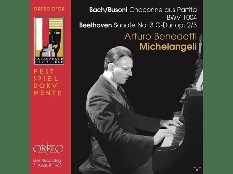 Arturo Benedetti Michelangeli - Chaconne/Sonate 3 [CD]