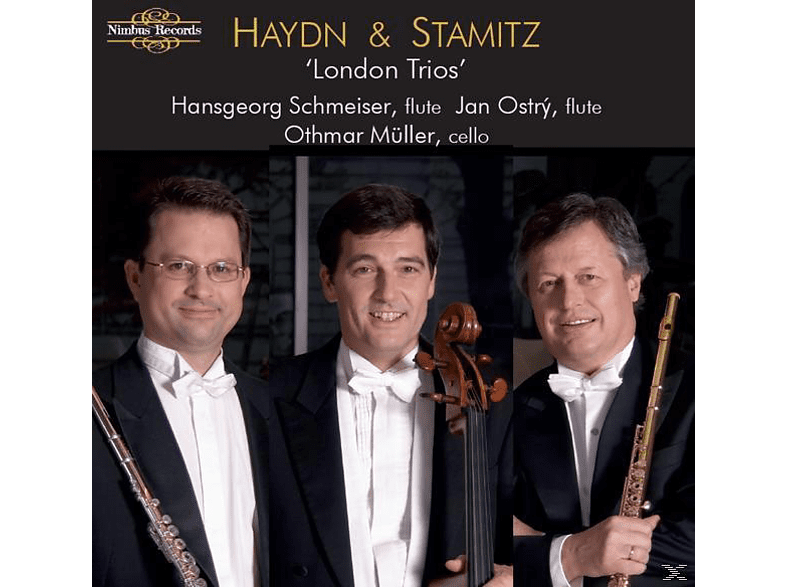 Schmeiser,Hansgeorg/Ostry,Jan/Müller,Othmar - London Trios [CD]