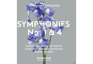 Israel Philharmonic Orchestra, London Symphony Orchestra - Sinfonien 1+4 - (SACD Hybrid)