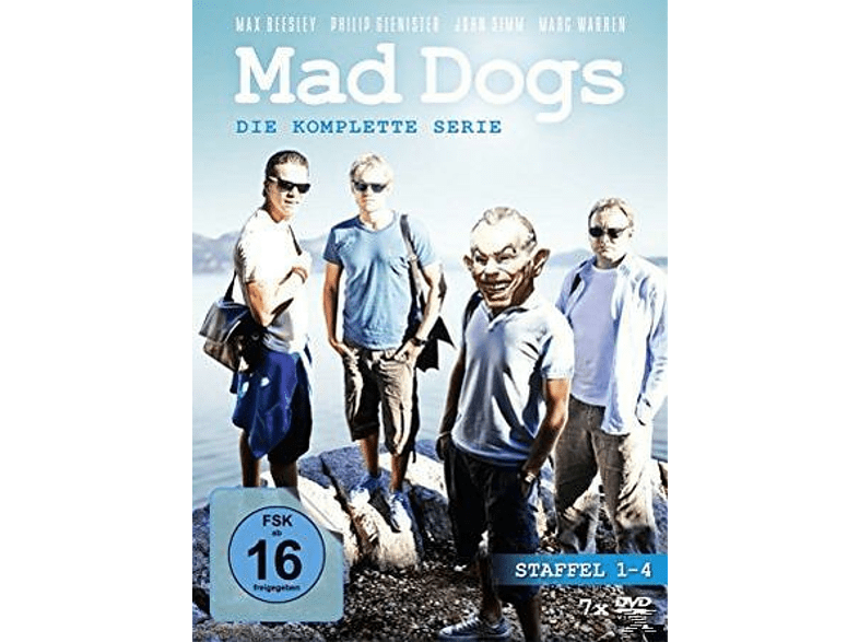 MAD DOGS 1-4.STAFFEL SERIE KOMPLETT [DVD]