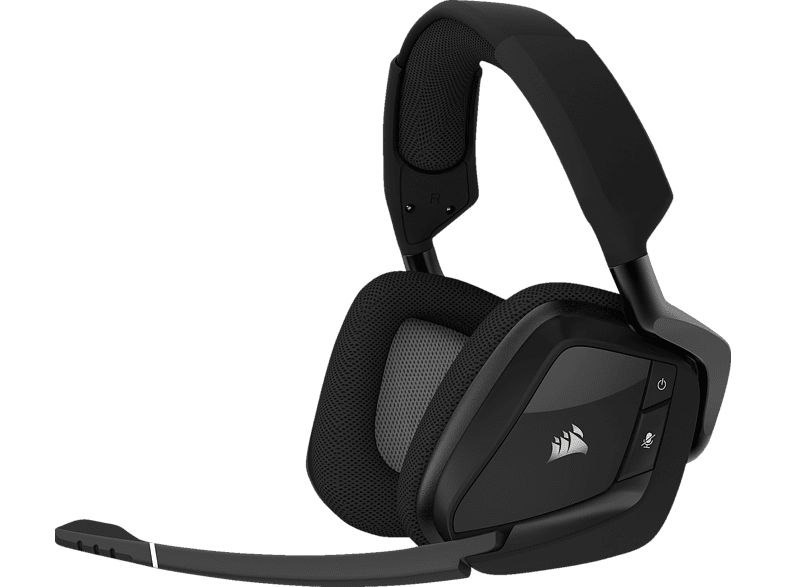 CORSAIR Void Pro RGB SE Premium Gaming Headset mit Dolby® Headphone 7.1 Gaming Headset Carbon