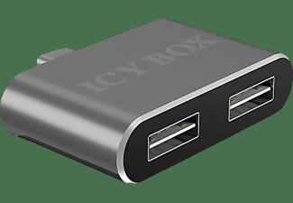 ICY BOX 2-Port, USB Hub