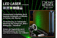 KONSTSMIDE 4530-590 LED Laser,  Schwarz,  Rot/Grün