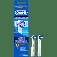 ORAL-B Precision Clean 2er Aufsteckbürsten