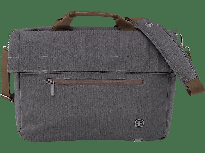 WENGER SunScraper Notebooktasche, Umhängetasche, 15.6, Grau