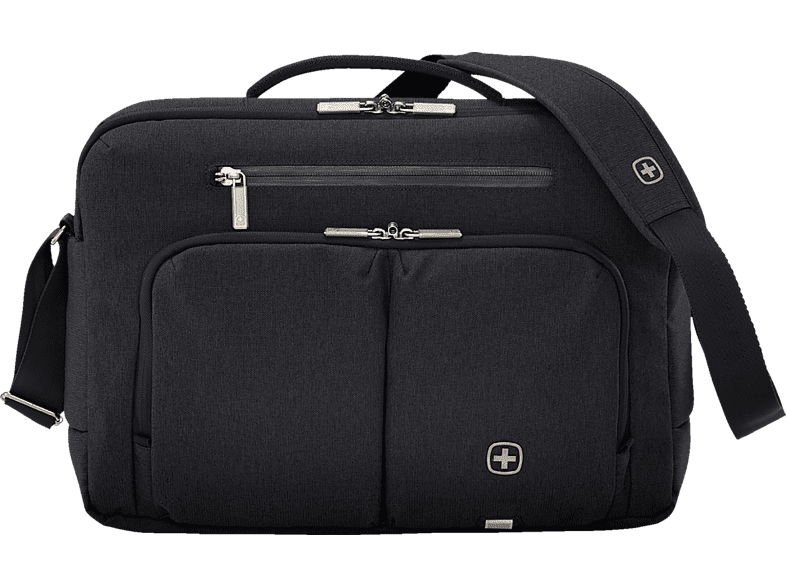 WENGER CityStream Notebooktasche, Umhängetasche, 15.6 Zoll, Schwarz