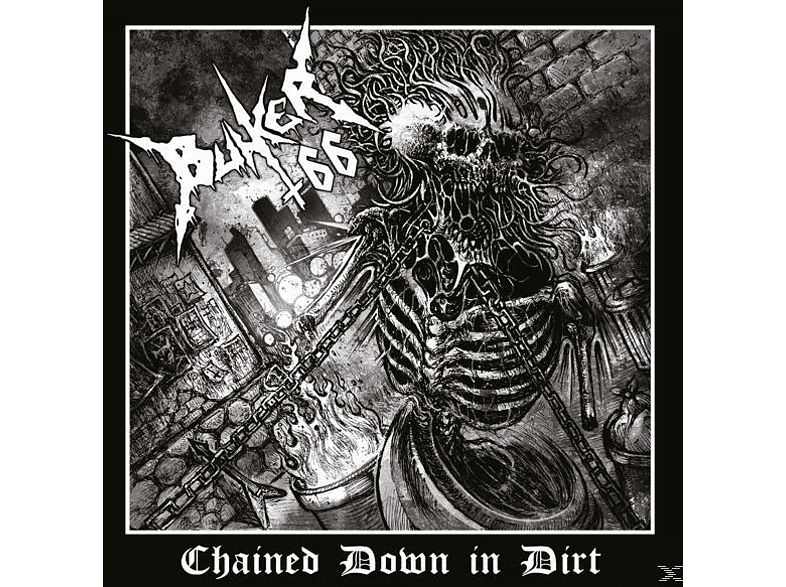 Bunker 66 - Chained Down In Dirt Transparent Piss Yellow LP) [Vinyl]