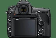 NIKON D850 Body Spiegelreflexkamera, 45.7 Megapixel, 4K, Touchscreen Display, WLAN, Schwarz