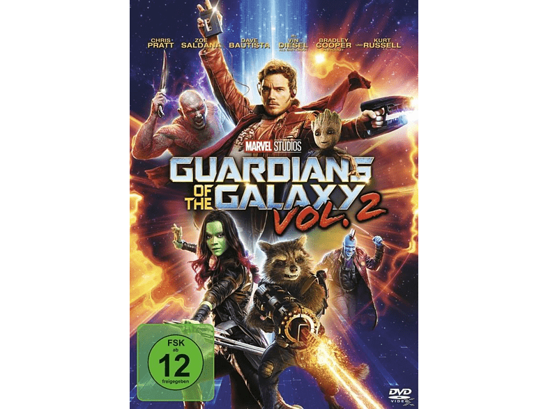 Guardians of the Galaxy Vol. 2 [DVD]
