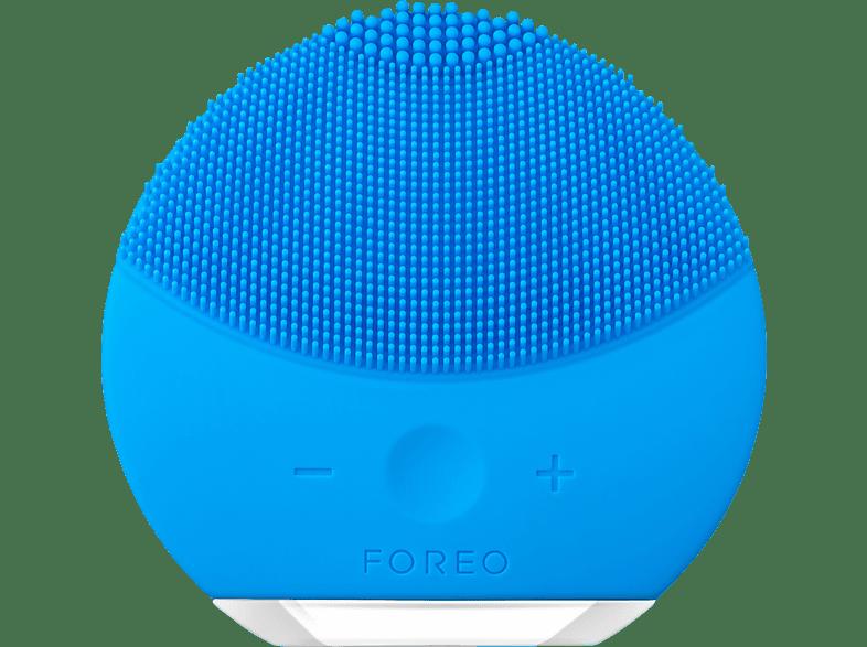 FOREO LUNA Mini 2 Gesichtsreinigungsbürste Aquamarine Gesichtsreinigungsbürste, Aquamarineblau