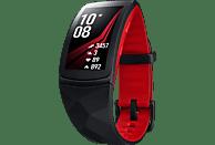 SAMSUNG Gear Fit 2 Pro Fitness Armband Silikon, S, Rot