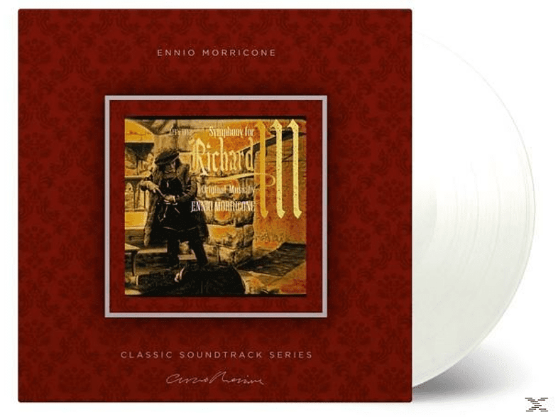 Ennio Morricone - Symphony For Richard III (Ost) (LTD Transparent) [Vinyl]