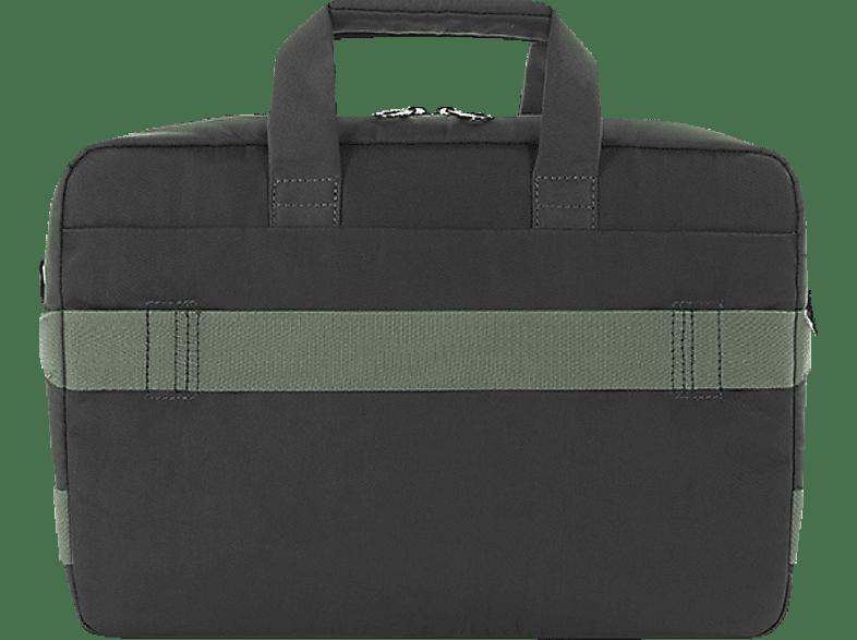 TUCANO BSTR1314-BK Notebooktasche, Aktentasche, 13.3 Zoll bis 14 Zoll, Schwarz