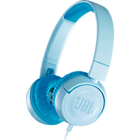 JBL JR300, On-ear Kopfhörer  Blau