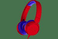 JBL JR300, On-ear Kopfhörer  Rot/Blau