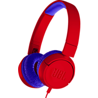 JBL JR300, On-ear Kopfhörer  Rot/Blau