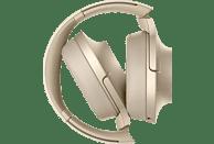 SONY h.ear on 2 WH-H900N, Over-ear Kopfhörer Bluetooth Gold