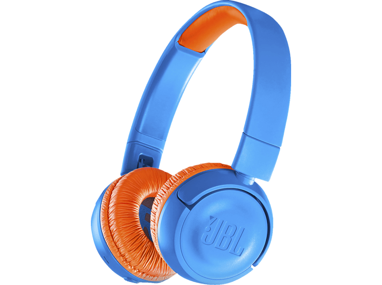 JBL JR300BT, On-ear Kopfhörer Bluetooth Blau/Orange