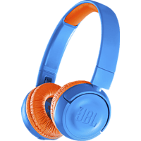JBL JR300BT, On-ear Kopfhörer Bluetooth Blau/Orange