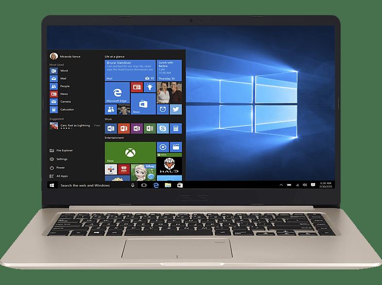 ASUS S510UN-BQ149T, Notebook mit 15.6 Zoll Display, Core™ i7 Prozessor, 8 GB RAM, 1 GB HDD, 256 GB SSD, GeForce® MX150, Gray Metal