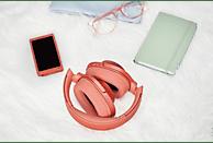 SONY h.ear on 2 WH-H900N, Over-ear Kopfhörer Bluetooth Rot