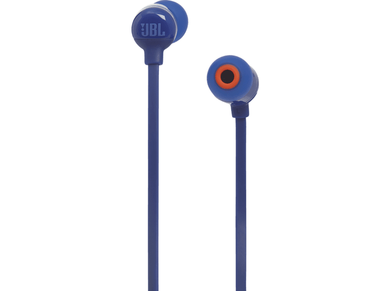 JBL T110BT, In-ear Kopfhörer Bluetooth Blau