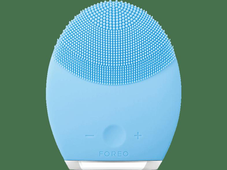 FOREO F 5975 Luna 2 Mischhaut Gesichtsreinigungsbürste, Blau