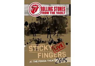 The Rolling Stones From the Vault: Sticky Fingers Live 2015 DVD + CD