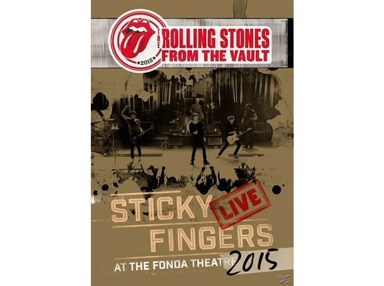 The Rolling Stones - From The Vault: Sticky Fingers Live 2015 (DVD+CD) [DVD + CD]
