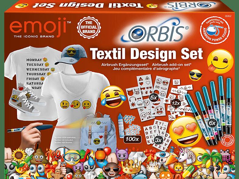 ORBIS Textil Design Set Textil Design Set, Mehrfarbig