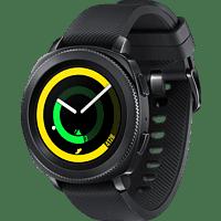SAMSUNG Gear Sport Smartwatch Silikon, S/L, Schwarz