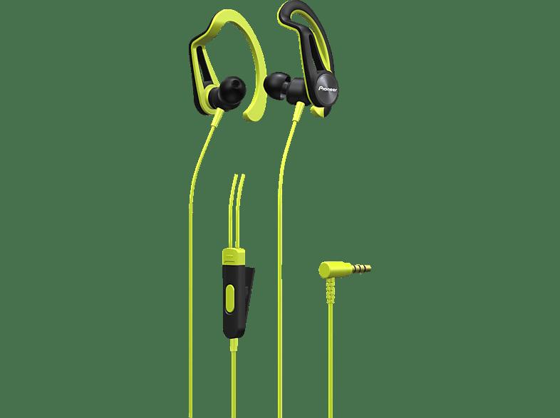 PIONEER SE-E5T, In-ear Kopfhörer  Gelb