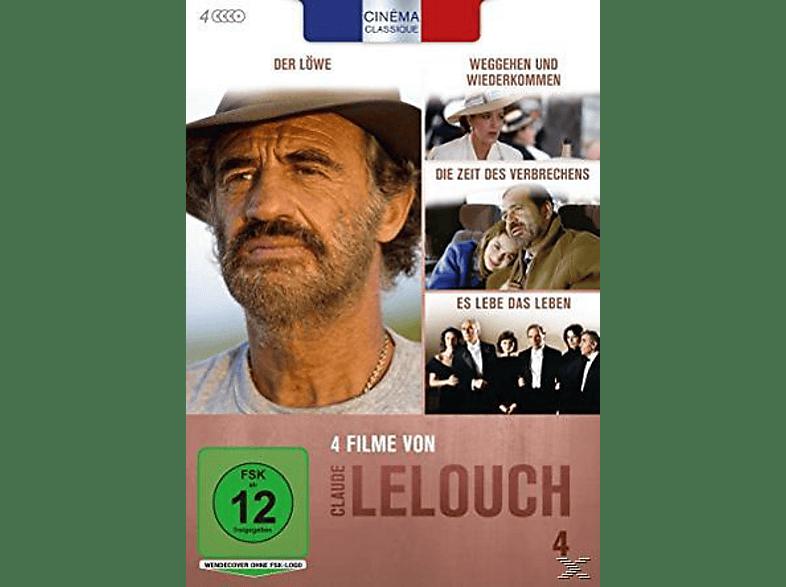 Cinéma Classique Claude Lelouch - Box 4 [DVD]